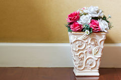 Flowers in a flowerpot Stock Photography