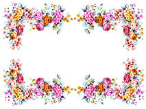 Flowers frame Royalty Free Stock Image