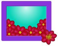 Flowers frame vector Stock Photos