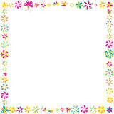 Flowers frame for your design Royalty Free Stock Photography