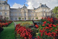 Luxembourg Palace, Paris. Royalty Free Stock Photo