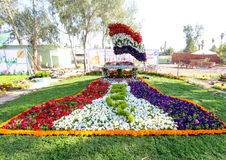 Flowers Gallery in Baghdad Royalty Free Stock Photography
