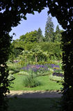 Flowers garden from Sanssouci in Potsdam,Germany royalty free stock photos