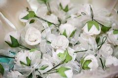 Flowers gift-testimony Royalty Free Stock Photo