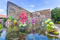 Flowers graden in water Royalty Free Stock Image