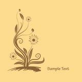 Flowers graphic design Stock Photo