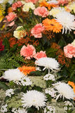 Flowers on Grave Stock Photography