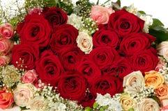 Flowers heart shape Stock Images