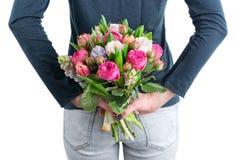 Flowers hidden behind Stock Photo