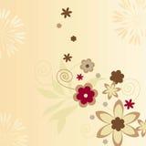 FLOWERS ICONS Stock Photo
