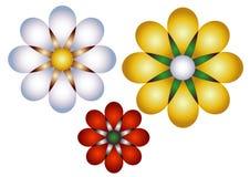 Flowers illustrated Stock Photo