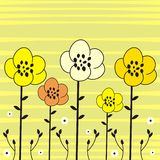 Flowers illustration Royalty Free Stock Photo