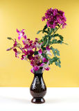 Flowers In A Vase. Stock Photo
