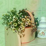 Flowers in the kitchen. Home Decor royalty free stock image