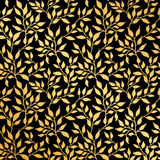 Flowers leaf seamless pattern Royalty Free Stock Photos