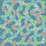 Flowers leaves background. Vector graphic illustration design art Stock Images