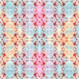 Flowers and leaves.Watercolor. Wallpaper. Seamless pattern.  Wallpaper. Royalty Free Stock Photography