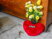 Flowers and love. Royalty Free Stock Photography