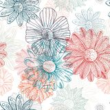 Flowers of lucent iridescence stock illustration