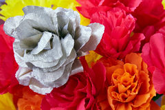 The flowers made of paper royalty free stock images