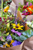 Flowers at the Market Royalty Free Stock Photos