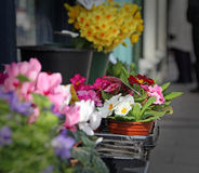 Flowers at market Stock Photo