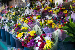 Flowers at a market Royalty Free Stock Photography