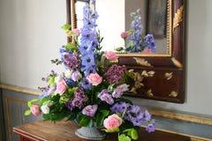 Flowers mirror Royalty Free Stock Photo