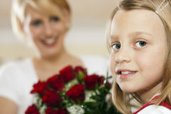 Flowers for mother's day Stock Image
