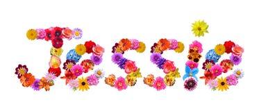 Flowers Name Jessie Stock Photo