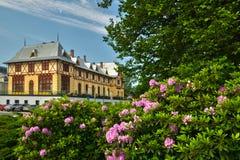 Hotel at Tatranska Lomnica royalty free stock photography