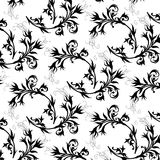 Flowers ornament background Royalty Free Stock Photos