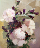 Flowers painting Royalty Free Stock Images