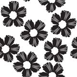 Flowers  pattern. Flowers pattern illustration,  art Royalty Free Stock Photos