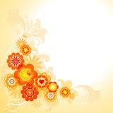 Flowers pattern Stock Image
