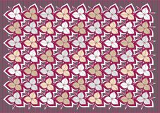 Flowers pattern Stock Photography