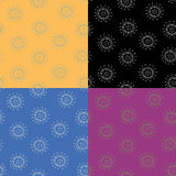 Flowers. Pattern Royalty Free Stock Photos