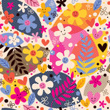 Flowers pattern Stock Image