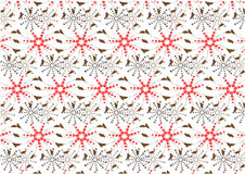 Flowers pattern ,abstract flora vector illustration Royalty Free Stock Image