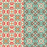Flowers in pattern Stock Photography