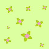 Flowers pattern background Royalty Free Stock Images