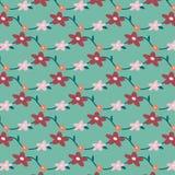 Flowers pattern background. Illustration vector Stock Image