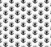 Flowers - a pattern2. Flowers - a pattern in the Russian folk style Stock Photos