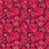 Flowers pattern Royalty Free Stock Photos