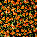 Flowers pattern useful for textures Stock Images