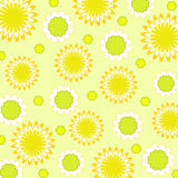 Flowers pattern - Vector Stock Photo