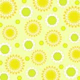 Flowers pattern - Vector Stock Photo