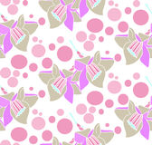 Flowers Pattern Vector royalty free stock photo