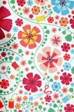 Flowers patterned paper. Royalty Free Stock Photo