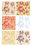 Flowers Patterns Royalty Free Stock Photography